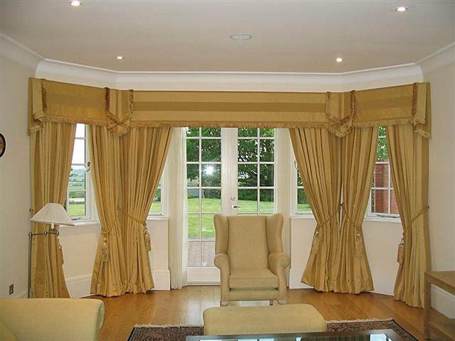 Reception room curtains project s